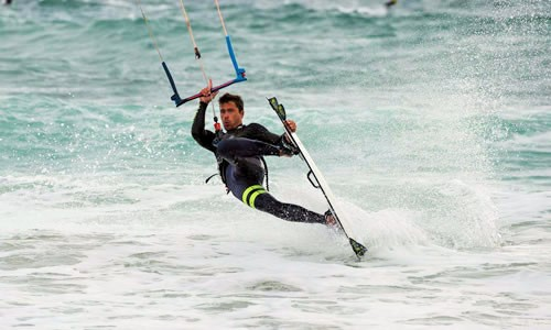 Advanced kitesurf course